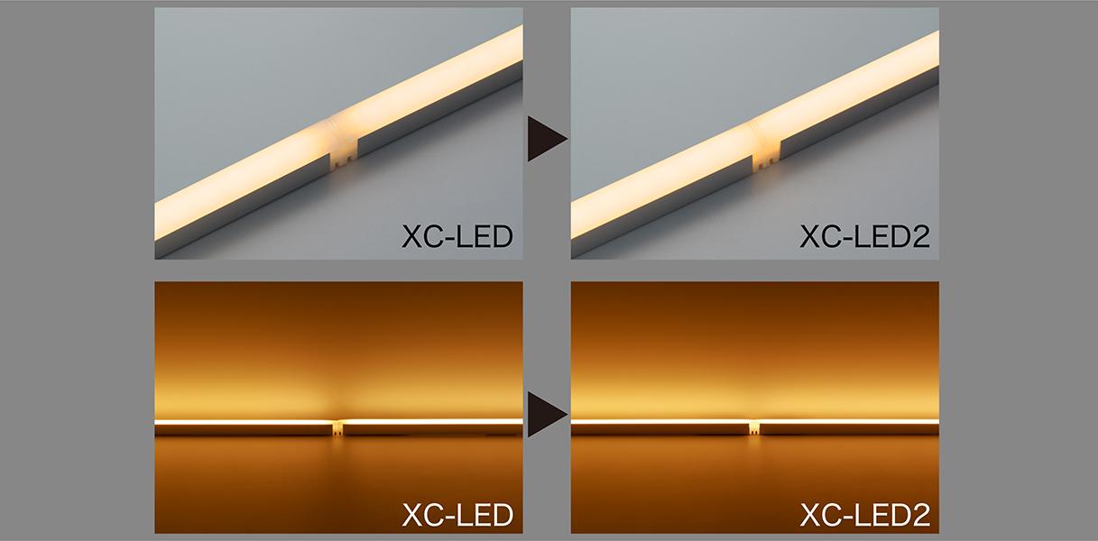 発光面の光の途切れの改善と光の連続性を向上したXC-LED2の発売開始
